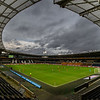 Picture: Alex Dodd/Epic Action Imagery <br /> <br /> Hull City v Burton Albion - SkyBet League One - 14/11/2020<br /> <br /> Pictured: A general view of the action inside the KCOM Stadium, during the SkyBet League 1 match between Hull City and Burton Albion a at the KCOM Stadium on Saturday 14th November 2020.