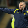 Picture: Alex Dodd/Epic Action Imagery <br /> <br /> Hull City v Burton Albion - SkyBet League One - 14/11/2020<br /> <br /> Pictured: Burton Albion manager Jake Buxton shouts instructions to his team from the technical area during the SkyBet League 1 match between Hull City and Burton Albion a at the KCOM Stadium on Saturday 14th November 2020.