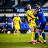 Picture: Aaron Murrell / Epic Action imagery<br /> <br /> Ipswich Town v Burton Albion - SkyBet League 1 - 28/01/2020<br /> <br /> Pictured: Charles Vernam and Stephen Ward during the SkyBet League 1 match between Ipswich Town and Burton Albion at Portman Road on Tuesday 15th December 2020.
