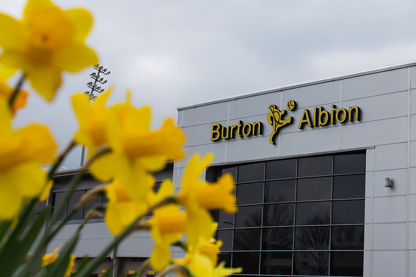 Picture: Richard Burley/Epic Action Imagery <br /> <br /> Burton Albion v MK Dons - SkyBet League One - 20/03/2021<br /> <br /> Pictured: General exterior ground view ahead of the SkyBet League 1  match between Burton Albion and MK Dons at the Pirelli Stadium on Saturday 20th March 2021.