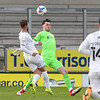 Picture: Alex Dodd/ Epic Action Imagery<br /> <br /> Burton Albion v Oxford United- SkyBet League One - 02/01/2021<br /> <br /> Pictured: Matty Taylor (Oxford United) scores the opening goal during the SkyBet League One match between Burton Albion and Oxford United at the Pirelli Stadium on Saturday 2nd January 2021