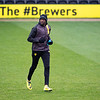Picture: Richard Burley/Epic Action Imagery <br /> <br /> Burton Albion v Peterborough United - SkyBet League One - 06/03/2021<br /> <br /> Pictured: Lucas Akins (Burton Albion) ahead of the SkyBet League 1  match between Burton Albion and Peterborough United at the Pirelli Stadium on Saturday 6th March 2021.