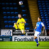 Picture: Aaron Murrell/ Epic Action Imagery<br /> <br /> Peterborough United v Burton Albion v  - SkyBet League One - 27/10/2020<br /> <br /> Pictured: John Joe O'Toole and Jonson Clarke-Harris during the SkyBet League One match between Peterborough United and Burton Albion at the Weston Homes Stadium on Tuesday 27th October 2020.