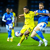 Picture: Aaron Murrell/ Epic Action Imagery<br /> <br /> Peterborough United v Burton Albion v  - SkyBet League One - 27/10/2020<br /> <br /> Pictured: Niall Ennis and Mark Beevers during the SkyBet League One match between Peterborough United and Burton Albion at the Weston Homes Stadium on Tuesday 27th October 2020.
