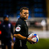 Picture: Aaron Murrell/ Epic Action Imagery<br /> <br /> Peterborough United v Burton Albion v  - SkyBet League One - 27/10/2020<br /> <br /> Pictured: Referee P Howard during the SkyBet League One match between Peterborough United and Burton Albion at the Weston Homes Stadium on Tuesday 27th October 2020.