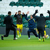 Picture: Suze EylesEpic Action Imagery <br /> <br /> Plymouth Argyle v Burton Albion - SkyBet League One - 10/10/2020<br /> <br /> Pictured: warm up with Sam Hughes (on loan from Leicester City) during the SkyBet League 1  match between Plymouth Argyle and Burton Albion at Home Park on Saturday 10th October 2020.