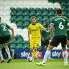Picture: Suze EylesEpic Action Imagery <br /> <br /> Plymouth Argyle v Burton Albion - SkyBet League One - 10/10/2020<br /> <br /> Pictured: Indiana Vassilev (Burton Albion)  on the attack during the SkyBet League 1  match between Plymouth Argyle and Burton Albion at Home Park on Saturday 10th October 2020.