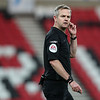 Picture: Alex Dodd/ Epic Action imagery<br /> <br /> Sunderland v Burton Albion - SkyBet League 1 - 01/12/2020<br /> <br /> Pictured: Referee Christopher Sarginson during the SkyBet League 1 match between Sunderland and Burton Albion at The Stadium of Light on Tuesday 1st December 2020.