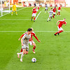 Picture: Andrew Sims/Epic Action Imagery <br /> <br /> Swindon Town v Burton Albion - SkyBet League One - 26/09/2020<br /> <br /> Pictured: Joe Powell (Burton Albion) and Matthew Smith (Swindon Town) during the SkyBet League 1  match between Swindon Town and Burton Albion at the County Ground on Saturday 26th September 2020.