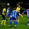 Picture: Richard Burley/ Epic Action Imagery<br /> <br /> Burton Albion v Wigan Athletic- SkyBet League One - 29/12/2020<br /> <br /> Pictured: John-Joe O'Toole (Burton Albion) powers home a header to open the scoring during the SkyBet League One match between Burton Albion and Wigan Athletic at the Pirelli Stadium on Tuesday 29th December 2020.