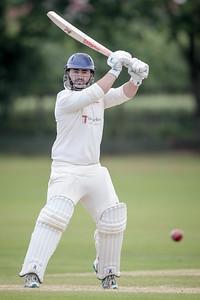 Burton Leonard batting
