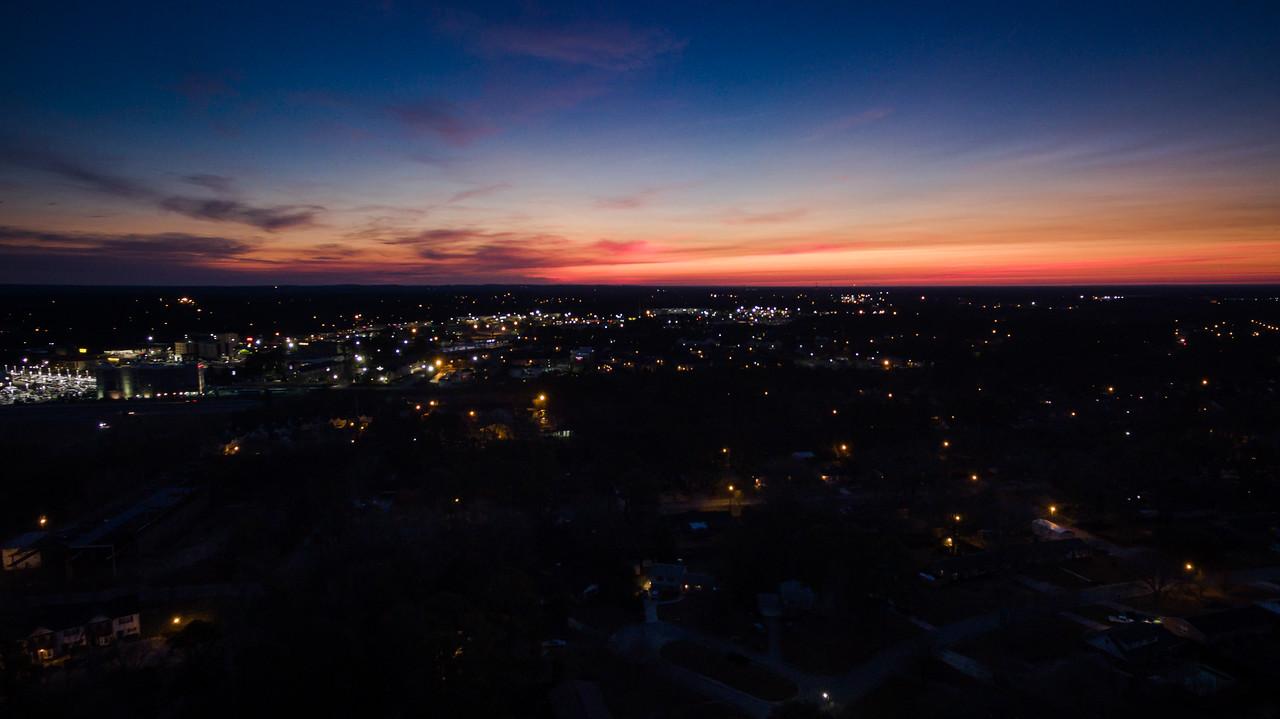 Sunrise, Columbia, SC 2-11-17