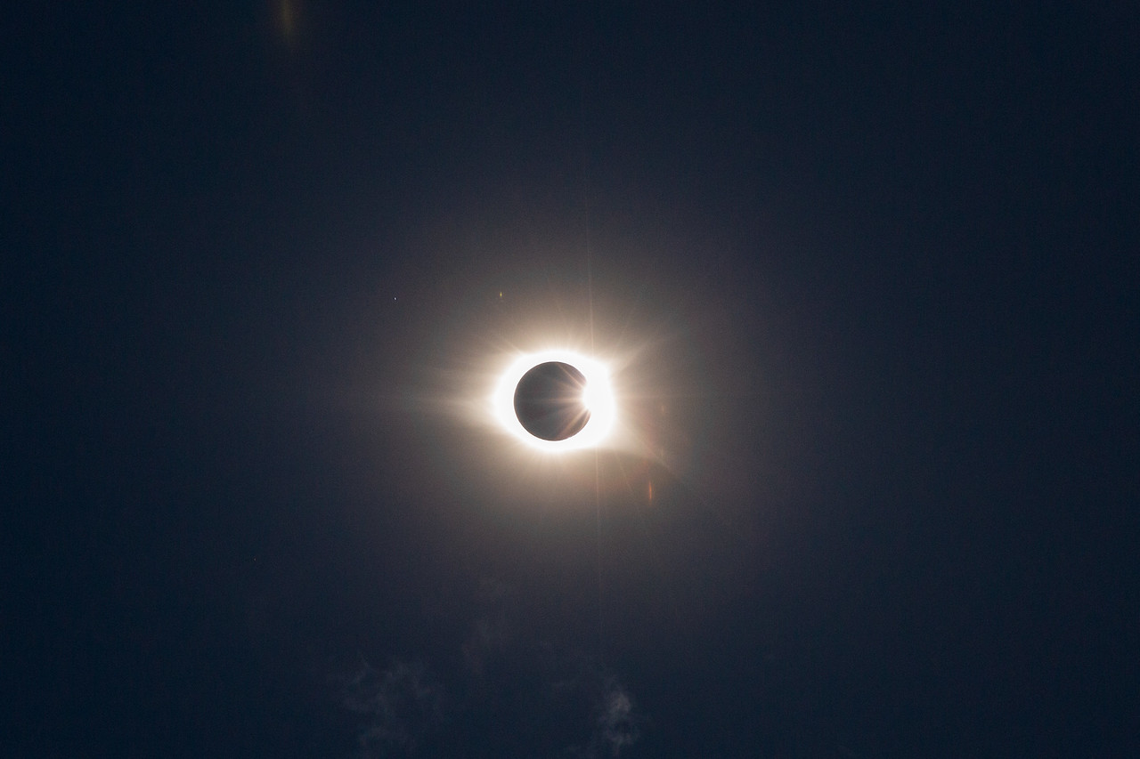 Solar Eclipse, Columbia, South Carolina