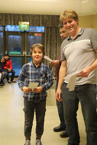 Theo Pommier (Woodbridge) - equal second in Under 9s