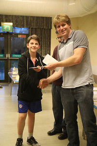 Findlay Lister - equal third in Under 18s