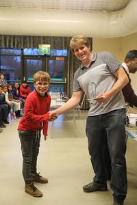 Rowan Kent (Bury Knights and Woodbridge) - Under 9 winner (6 points)