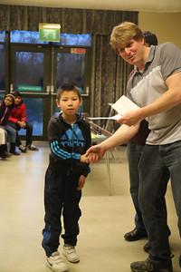 Jianzhou Mei (Cambridge) - second in Under 11s