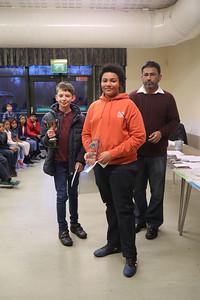 William Stoeber, East Anglian Junior Champion and Jaden Jermy