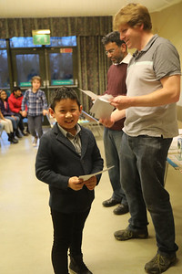 Jackson Chen (Cambridge) - equal second in Under 9s