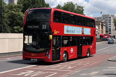 EH 111-YY66 OZT on Knightsbridge.
