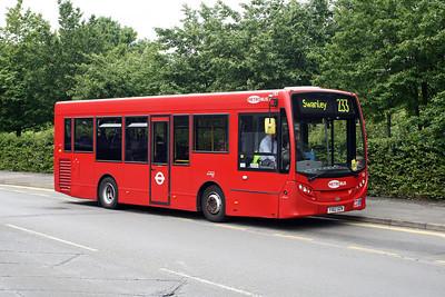 Metrobus Route 233 (Swanley to Eltham) - Terrysbusphotos