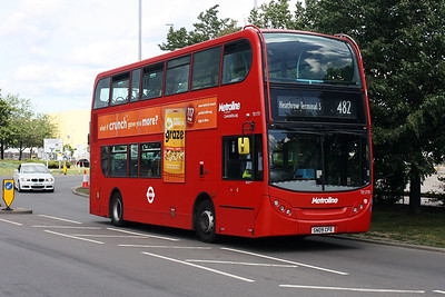 1731-SN09 CFE on the Southern Perimeter Road at Hatton Cross, London Heathrow.