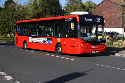 DLE 30069-SN17 MVU on the Lower Morden Road, Morden.