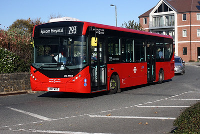 DLE 30068-SN17 MVT at the Berverley, Morden.