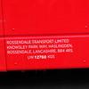 Rossendale Transport (ROSSO) Volvo B9TL Gemini 156 FJ08 BYV legal lettering