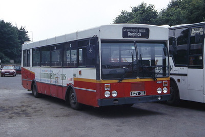 Bus Eireann KR38 Drogheda Bus Stn Jul 97