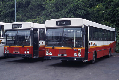 Bus Eireann KR35_KR37 Drogheda Bus Stn Jul 97