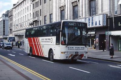 Bus Eireann DVH12 O Connell St Dublin Jul 98
