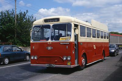 Bus Eireann E14 Athlone Railway Stn 1 Jun 00