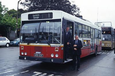 Bus Eireann KC104 Eyre Square Galway 2 Jul 97