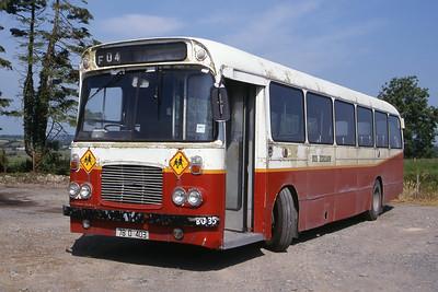 Bus Eireann BG35 Farm rural Connacht 1 Jun 00