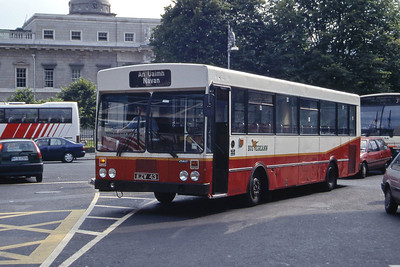 Bus Eireann KR43 Store St Dublin Jul 97