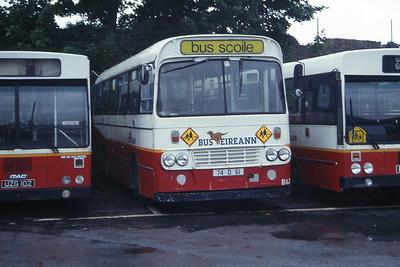 Bus Eireann BA20 Galway Depot Jul 97