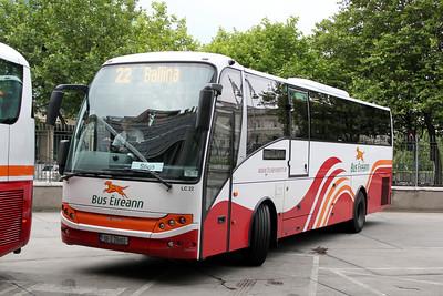 Bus Eireann LC22 Busaras Dublin Jul 10