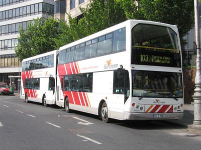 Bus Eireann DD12 Beresford Place Dublin Jun 05