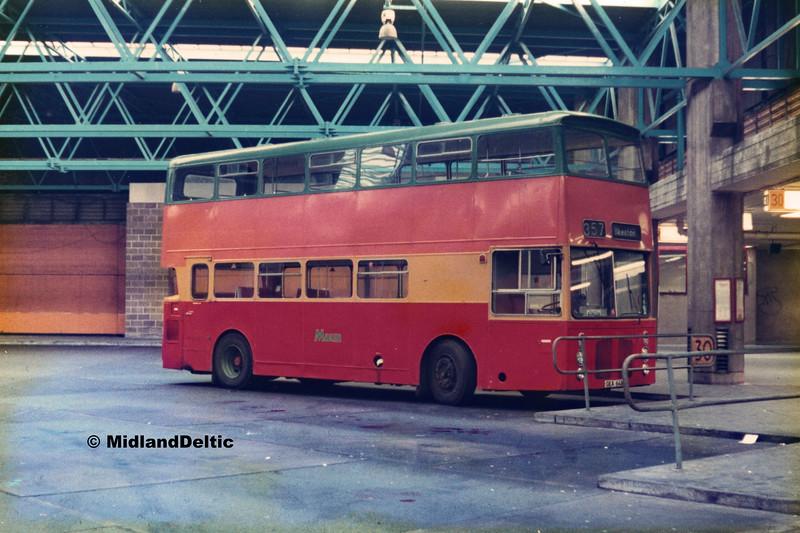 Maun GKA64N, Victoria Bus Station Nottingham