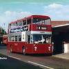 Trent Buses 556, Derby Bus Station, 25-07-1989