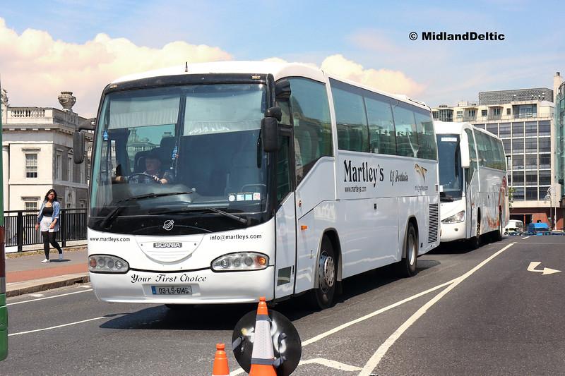 Martley 03-LS-6145, Memorial Bridge Portlaoise, 14-07-2018