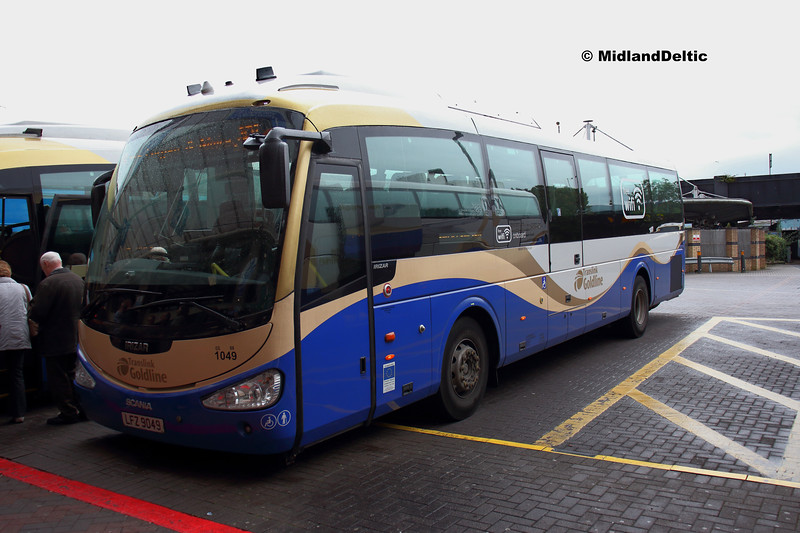 Translink Ulsterbus 1049, Europa Bus Centre Belfast, 08-07-2019