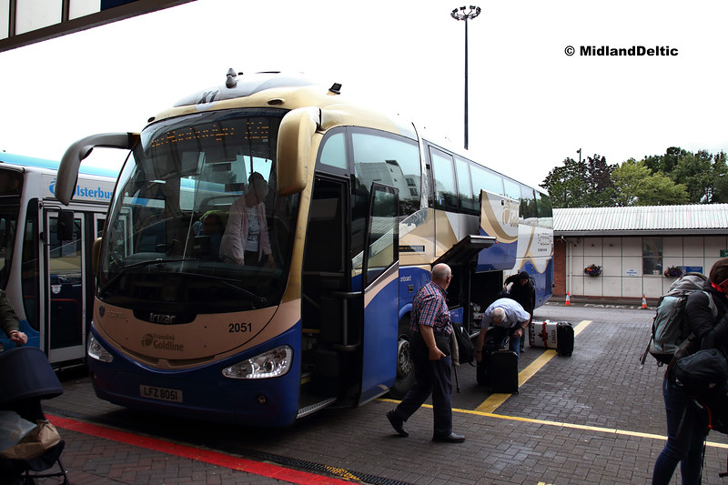 Translink Ulsterbus 2051, Europa Bus Centre Belfast, 08-07-2019