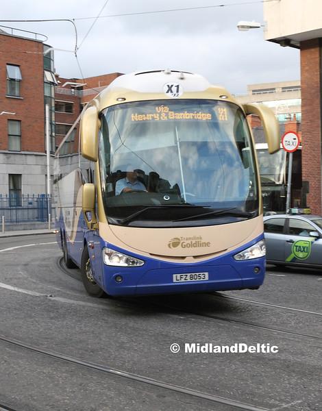 Ulsterbus 2053, Store St Dublin, 23-07-2016
