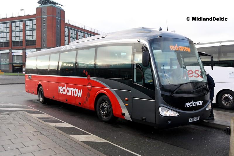 TrentBarton 75, Derby Bus Station, 07-01-2017