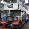 Nottingham Heritage Vehicles 80NVO, Hucknall Bus Depot, 10-01-2016