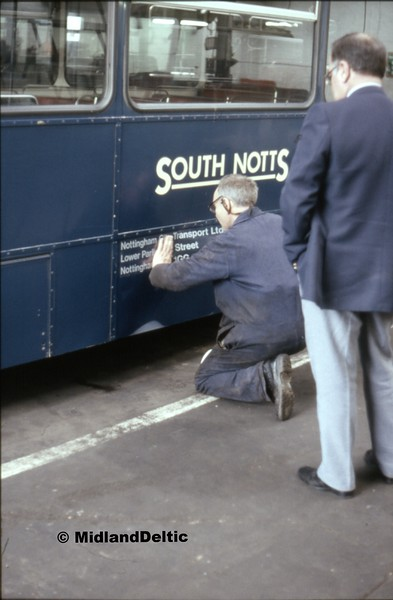 South Notts 129, Gotham Depot, 30-03-1991