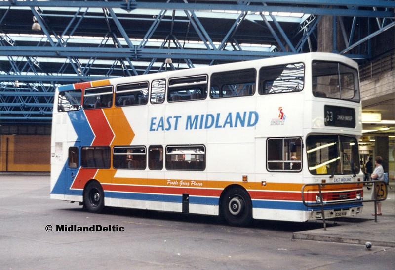 Stagecoach East Midland 339, Victoria Bus Station Nottingham