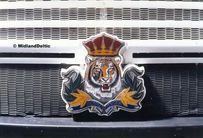 Royal Tiger Badge